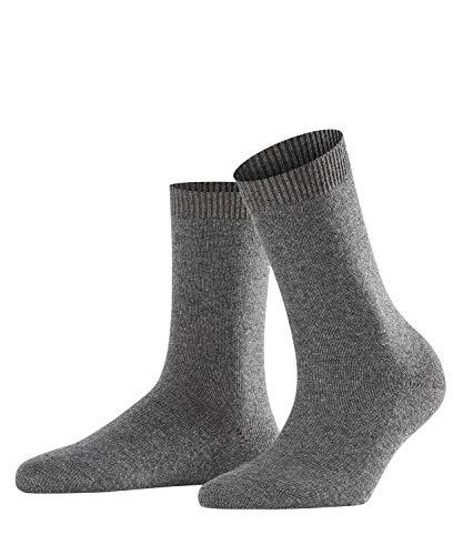 FALKE Damen Socken, Cosy Wool W SO-47548, Grau (Grey Mix 3399), 39-42