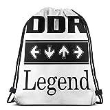 Jard-Baby DDR Legend Sport Sackpack Kordelzug Rucksack Sportbeutel Sack