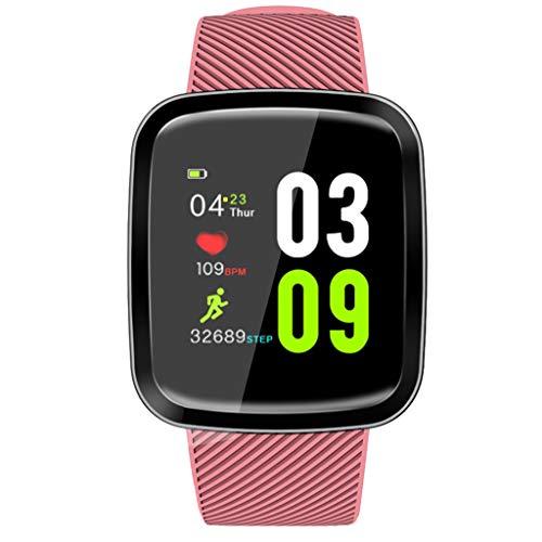 OPAKY Pulsera Actividad Pulsera Inteligente con Pulsómetro Smart Watch Presión Arterial Monitor de Ritmo cardíaco Sueño Deportes Fitness Rastreador Pulsera Deporte para Android y iOS Teléfono móvil