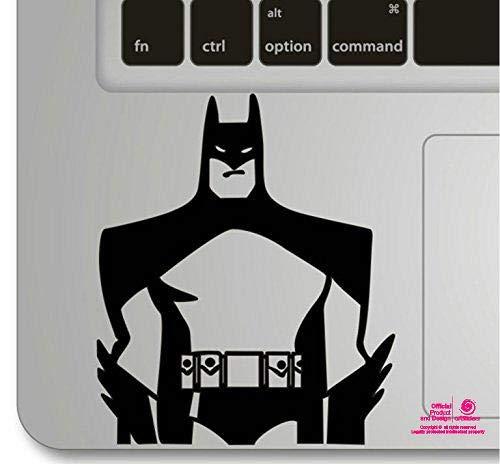 Artstickers. Autocollant pour ordinateur portable ou Macbook. Vinyle Batman pour pavé tactile. Autocollant pour clavier MacBook Pro Air Mac portable. Couleur : noir. Cadeau Spilart,