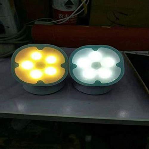Induktionslampe Des Menschlichen Körpers Induktionsnachtlicht Führte Intelligentes Sensorlicht Schlafzimmernachttischlampe Infrarot-Sensorlicht Huang Guang 85 * 80 * 47Mm