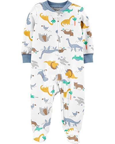 Carter's Dinosaurs 2-Way Zip Cotton Sleep & Play Preemie