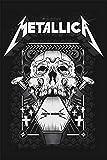 No/Brand Metallica Metall Blechschild Retro Metall gemalt