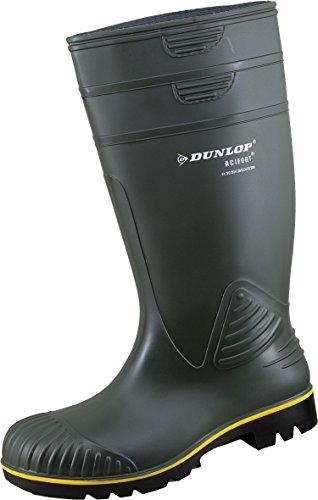 Dunlop 1909/P Gummistiefel Acifort Non Safty Oliv (43, Gummistiefel)
