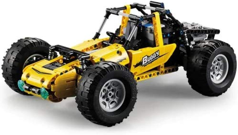 Ocamo DoubleE OffRoad Climbing Vehicle RearDrive AllTerrain Rc Toy Assembly Blocks