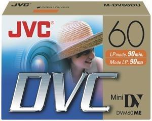 JVC 60Min Mini DV Tape 2Stück S/O