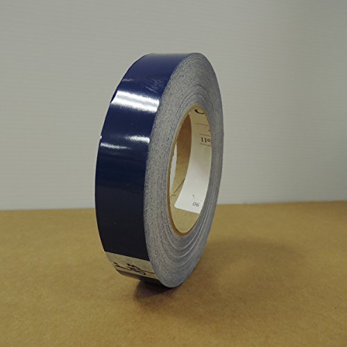 """1"""" 3M Vinyl Striping 150' 25 Colors Available (Dark Blue)"""