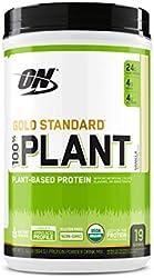 Optimum Nutrition Gold Standard 100% Organic Plant Based Protein Powder, Vitamin C for Immune Suppor