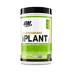 Optimum Nutrition Gold Standard 100% Plant Based Protein Powder, Vitamin C for Immune Support, Vanil