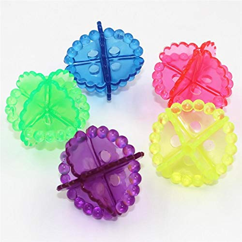 Fijnere 4 stuks Droger Ballen Wasbal Herbruikbare Wasmachine Wasdroger Wasdroger Kleding Reinigingsballen Schoner Milieuvriendelijk