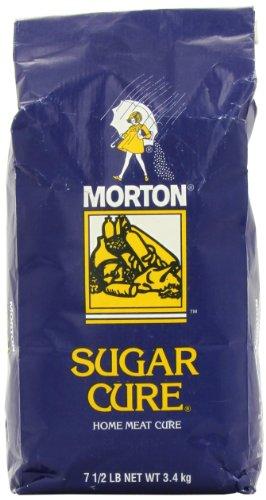 Morton Sugar Cure Salt, Plain, 7.5 Pound