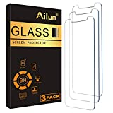 Ailun Glass Screen Protector for iPhone 12 mini 2020 5.4 Inch 3 Pack Tempered Glass