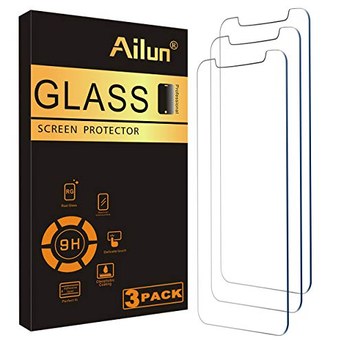Ailun Glass Screen Protector Compatible for iPhone 12 mini 2020 5.4 Inch 3 Pack Tempered Glass
