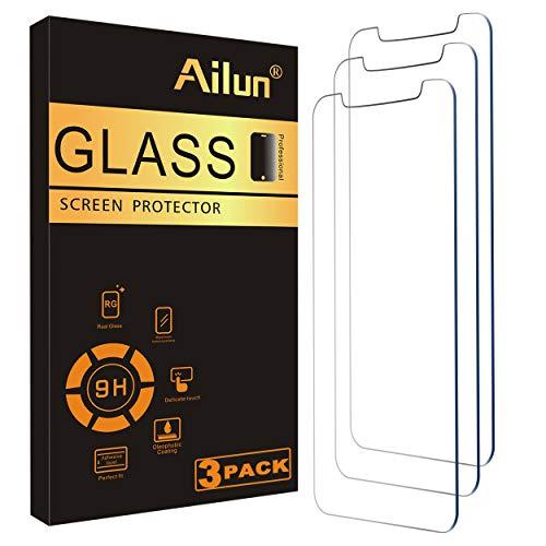 Ailun - 3 Protectores de pantalla de cristal templado para iPhone 12 mini 2020 de 5,4 pulgadas