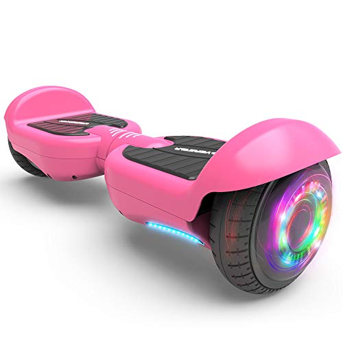 HOVERSTAR All-New HS2.0 Hoverboard Two-Wheel Self Balancing Flash Wheel Electric Scooter (Matt Pink)