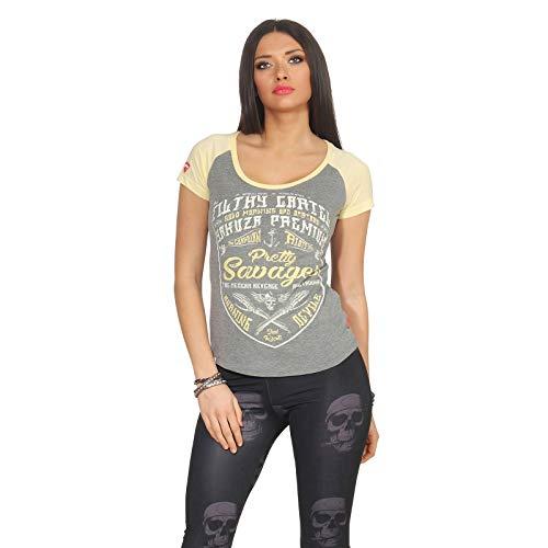 Yakuza Premium Damen T-Shirt GS 2632 grau