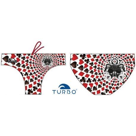 Costumi Turbo - Costume da bagno Psycho Cards Turbo nuoto - S