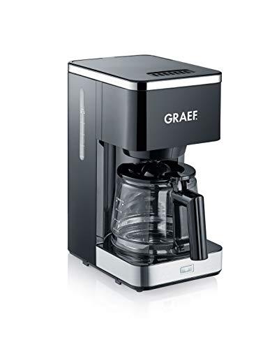 Graef FK402EU Filterkaffeemaschine, 1000, schwarz