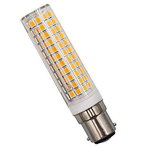 B15D LED Glühbirne 9W 100W Halogen Equivalent Warmweiß 3000K 230V Dimmbar Super Hell Für Nähmaschinen, 1er Pack [MEHRWEG]
