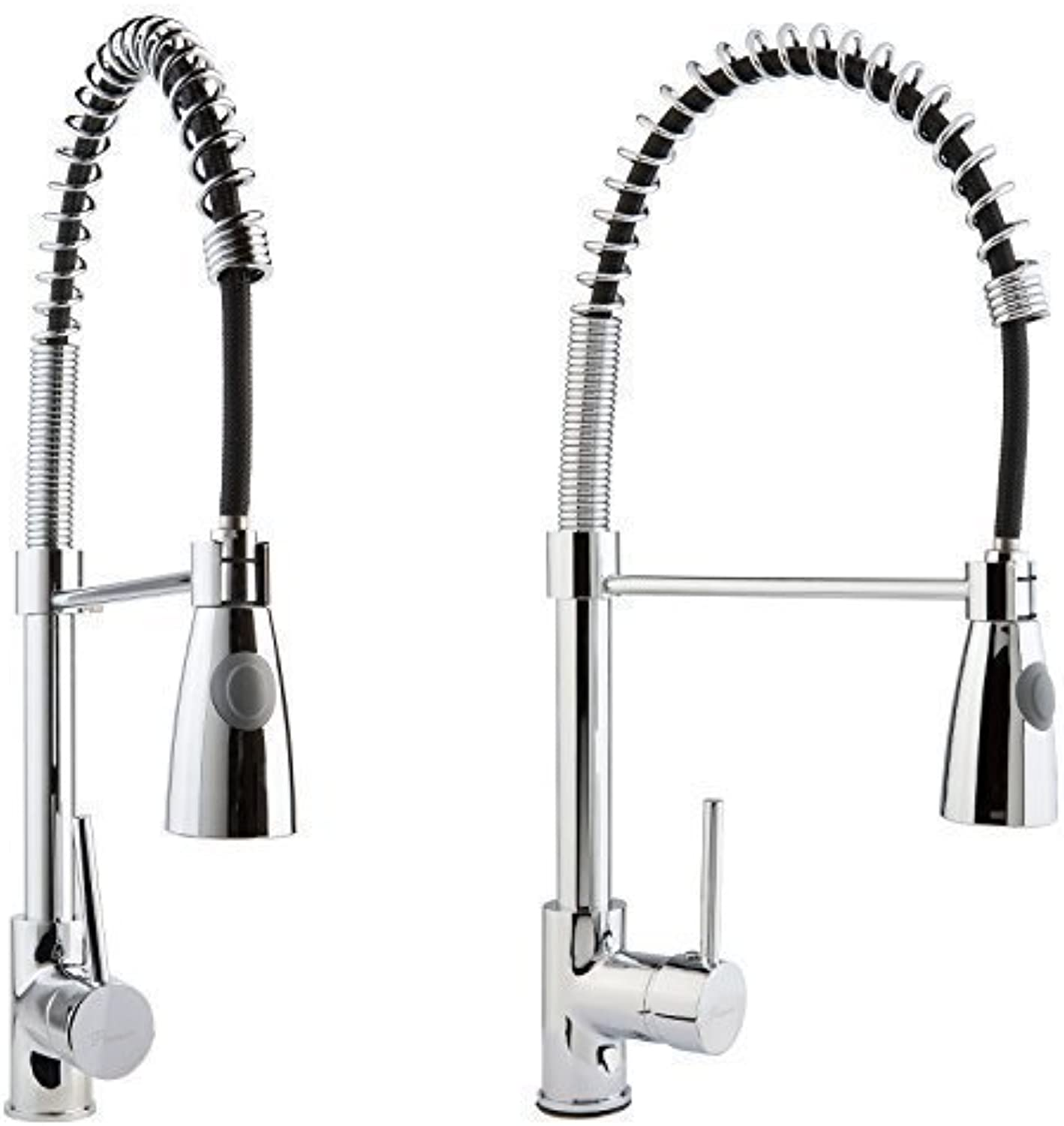 XXL Low Pressure Tap Fitting with Shower Kitchen Sink Tap extendable single-lever tap shower tap Hebelmischer
