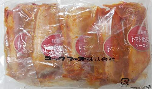 紅茶鴨 合鴨 トマト煮込み ソース入り 1kg×12P(P5本) コックフーズ 冷凍 業務用