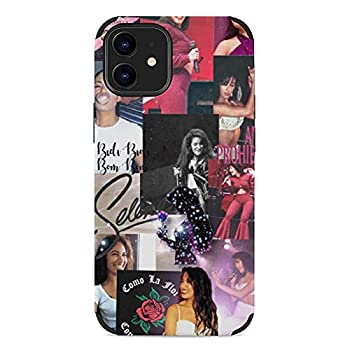 Microfiber Phone Case iPhone 12/12 Pro Case Selena Qu-Intanilla May Protection Shockproof Protective Cover Case for iPhone 12/12 Pro 6.1