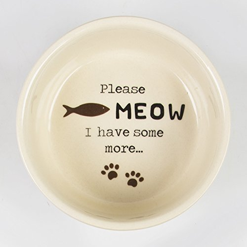 Please Meow I Have Some More Cat Food Dish