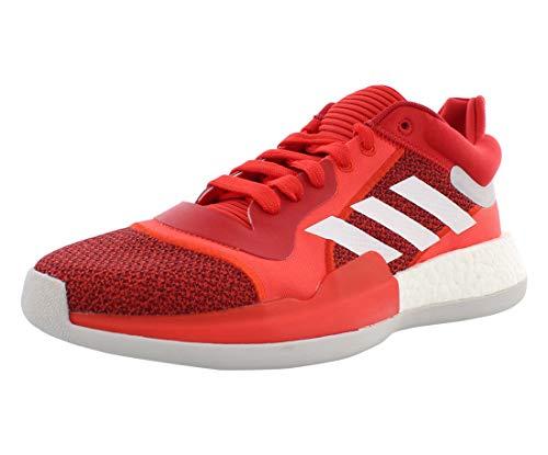 adidas Herren Marquee Festzelt Boost Low, Active Red White Scarlet, 51 1/3 EU