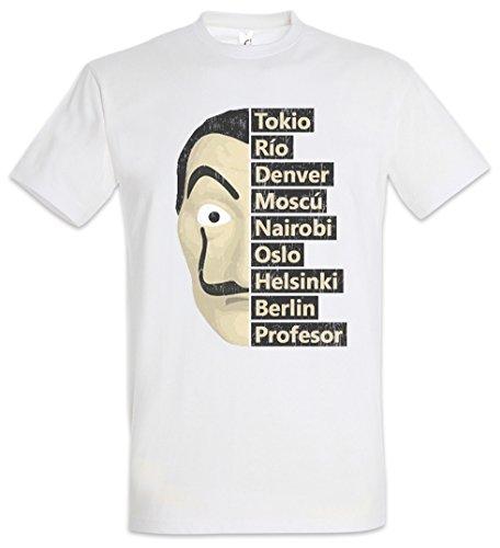 Urban Backwoods Heist Names Camiseta De Hombre T-Shirt Blanco...