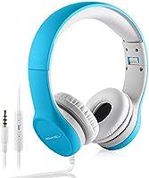 Kopfhörer Kinder, hisonic Kopfhörer für Kinder mit Laustärkebegrenzung Verstellbare Kinder Erwachsene Headset für iPod...