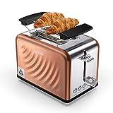 Housmile Edelstahl Toaster für 2 Brotscheiben