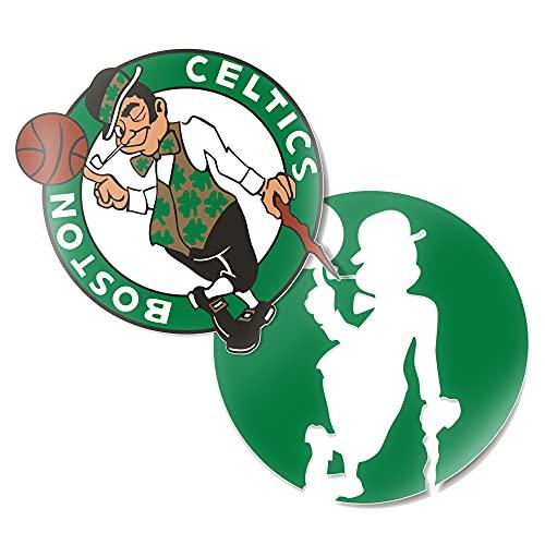 Boston Celtics NBA Officially Licensed Sticker Vinyl Decal Laptop Water Bottle Car Scrapbook (4 Inch)