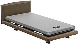 パラマウントベッド 電動ベッド インタイム1000 マットレス付 3モーター ハリウッド フットボード無し (ブラウン) RQ-1332BF+RM-E251 【4梱包】