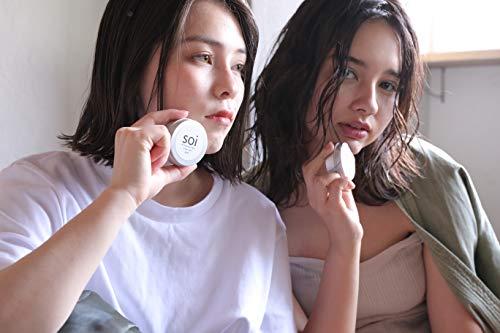 soibalm/ソイバームオーガニックワックス【濡れ感×自然な束感】濡れ髪風仕上げにおすすめ