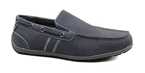 GBX Mens Luca Navy Loafers Size 10