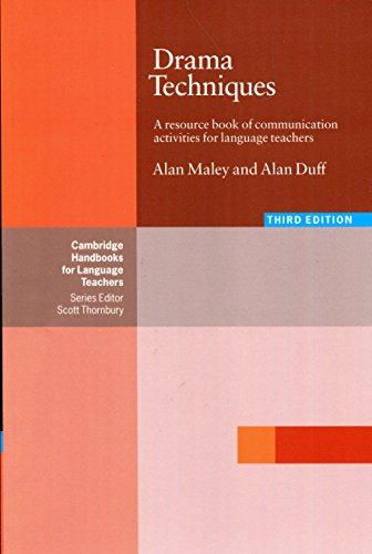 Drama Techniques: A Resource Book Of Communication Activities For Language Teachers (Cambridge Handbooks for Language Teachers)の詳細を見る