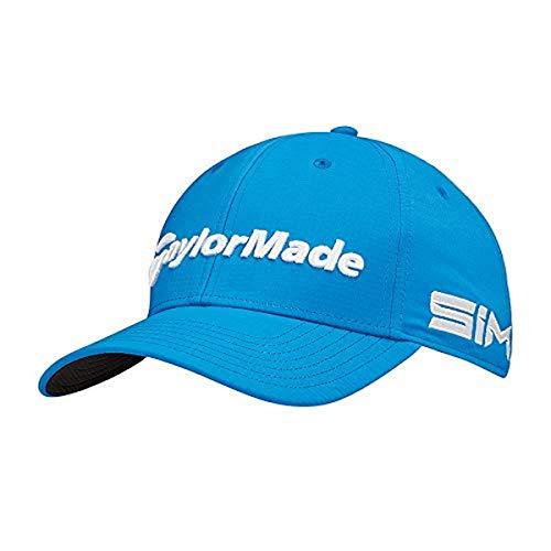TaylorMade Tour Radar Structured Adjustable Hat, Royal