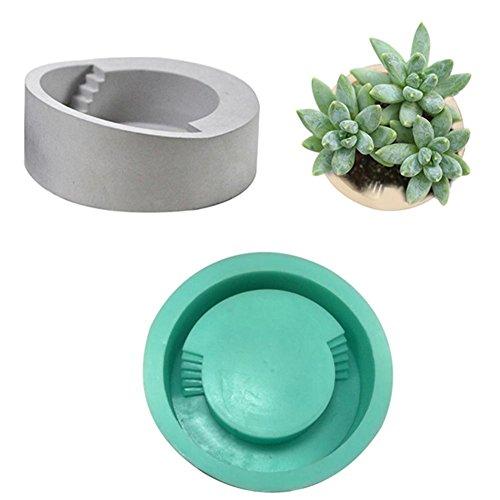 Funihut vormen voor bloempotten, decoratie, bloembakken van beton, pallet, siliconen vorm, cementvorm