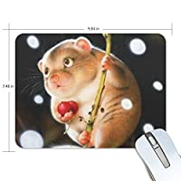 マウスパッド 可愛いモルモット ゲーミングマウスパッド 滑り止め 19 X 25 厚い 耐久性に優れ おしゃれ