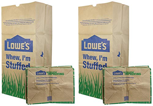 Review H&PC-75419 (25 Count) 30 Gallon Heavy Duty Brown Paper Lawn and Refuse Bags for Home, Origina...
