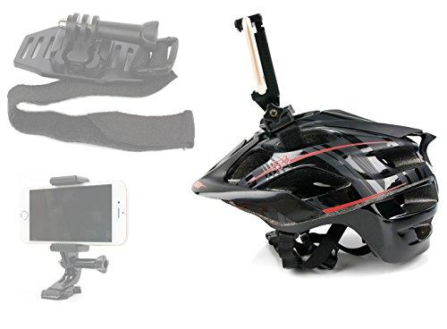 Adaptador de montaje telefónico para GoPro (arnés, accesorios y accesorios).