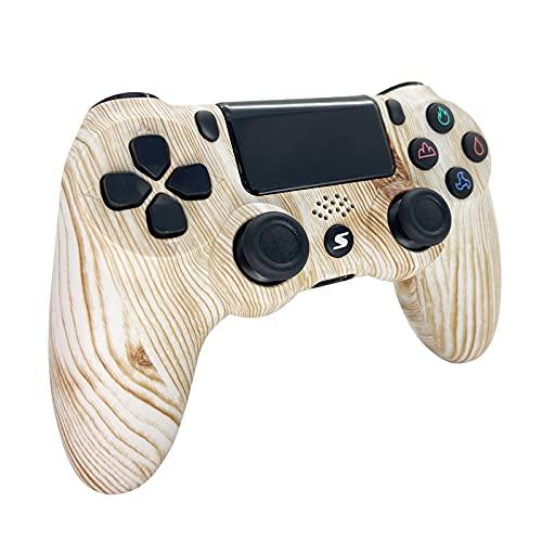 Jnsio Mando para PS4, Mando Inalámbrico Compatible para P S-4 / Pro/Slim/PC,...