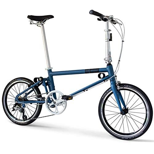 Citybike Ahooga Comfort Blau 20 Zoll Shimano Schaltung Komfortausstattung mit Licht- und Schutzblechen