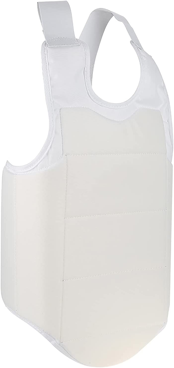 NEW before selling Breast Protector Chest Guard Highly Straps for Time sale Elastic Taekwond