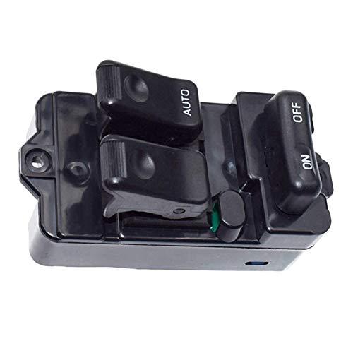 RJJX Misura Per Mazda 323F Bongo 1994-1998 95 96 Rhd Power Master Finestra Switch Console S09A-66-350A09 (Nome Colore: Nero)