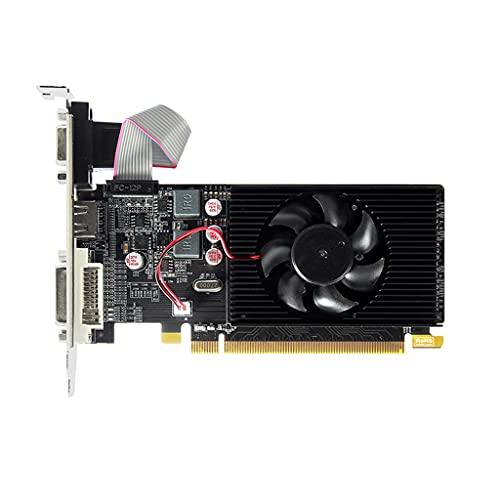 Scheda VGA per AMD Radeon HD6450 1GB GDDR3 64Bit HDMI-Compatibile VGA DVI Schede Grafiche Supporto PCI Express 2.0 Interfaccia gddr3 Scheda Grafica Scheda Video 2gb