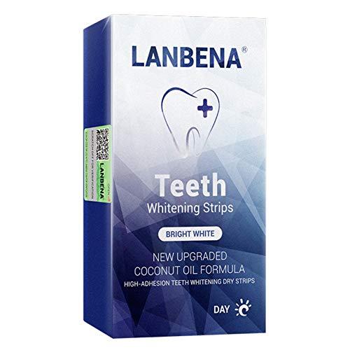 ARTIFUN 7 Paar/Box Zahnweiß Streifen Kit Natural Clean Care Fresh Reduce Daliy Verwendung 1 Stunde Express Zahnweiß Stick