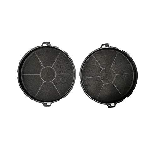 MarelShop®-Confezione due filtri cappa per Faber type EFF73 h36mm Ø 190 compatibili