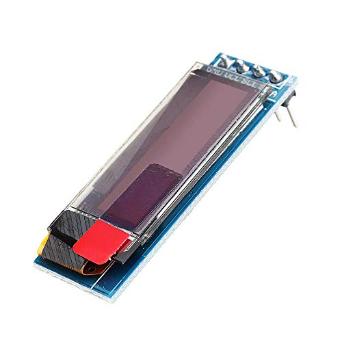 10 unidades de 0.91 pulgadas 128x32 IIC I2C Blanco OLED Display Module SSD1306 Driver IIC DC 3.3V 5V - productos que funcionan con placas prescritas