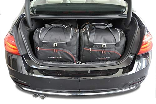 KJUST Kofferraumtaschen 4 STK Set kompatibel mit BMW 3 Limousine F30 2012 - 2018